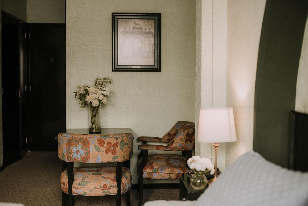Sala habitación Hotel León